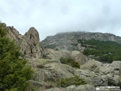 Sierra Porrones-Senda de las Cabras;fin de año madrid semana santa ronda rutas gredos rutas senderi